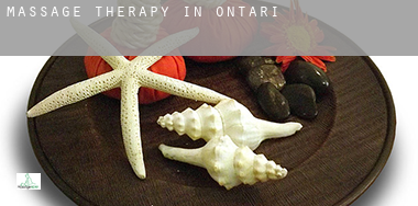 Massage therapy in  Ontario